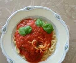 Tomatensoße eine für alle