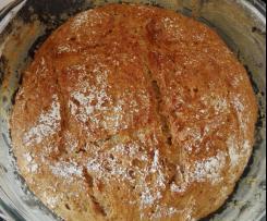 Variation von Französisches Brot im Bräter / Pain à la Cocotte