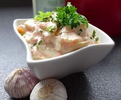 Kartoffelsalt mit Räucher-Lachs