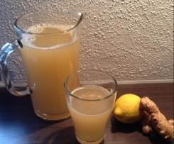 Winterwärmer (Zitrone-Ingwer)