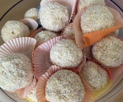 Kokos-Schneebällchen