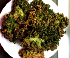 Kale Chips (Grünkohlchips), vegan