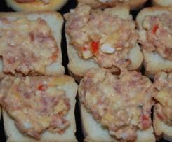 Toastaufstrich Käse salami