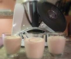 Erdbeerpudding ohne Puddingpulver