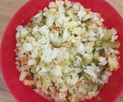 Apfel-Kohlrabi-Salat