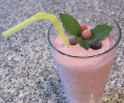 fruchtige Quarkspeise, gesund und lecker
