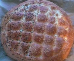 Türkisches Fladenbrot/Pide wie vom türkischen Bäcker