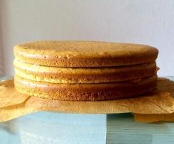 Biskuit (ideal für Schichtkuchen)