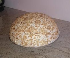 Malakow mit Pfirsichstreifen - Kuppeltorte