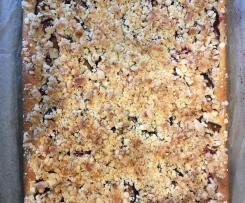 Zwetschgen-Kokos-Kuchen