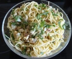 Spaghetti-Salat Carbonara