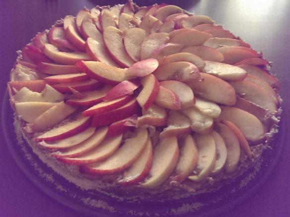 Rohkost Kuchen Pfirsichtraum Vegan Zuckerfrei Glutenfrei