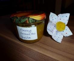 Variation von Orangenmarmelade ---- Orange Amaretto Vanille