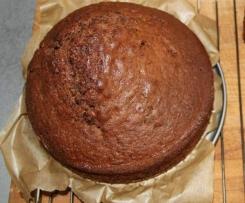 Schokoladenrührkuchen - ganz fix