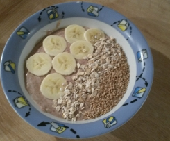 Smoothie-Bowl Schoko-Nuss