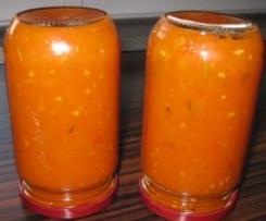 Flaschenpost aus dem roten Meer - Frische Tomatensauce