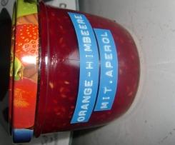 Orangen-Himbeermarmelade mit Aperol