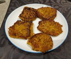 Grünkern Bratlinge mit Karotten und Pastinake