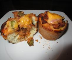 Cheeseburger Muffin