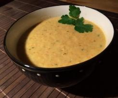 Köstliche Pastinaken-Cremesuppe