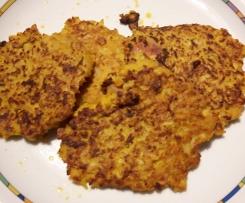 Kartoffel-Kürbis-Küchlein