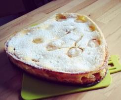Aprikosenrahm-Kuchen