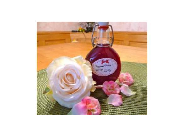 Turbo Rosenwasser und Rosensirup von Kallewirsch. Ein Thermomix ® Rezept YU61