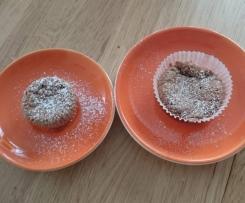 Mehlfreie Schokoladenmuffins - Variation von Mehlfreier Schokoladenkuchen