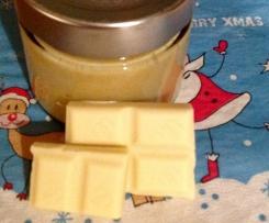 Weiße Schokocreme Weißes Nutella