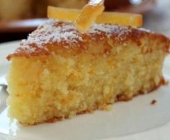 Unglaublich leckerer saftiger blitzschneller Bio Orangen Kuchen