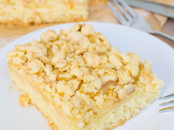 Apfel Streusel Kuchen Vom Blech Von Dalmatinka84 Ein Thermomix