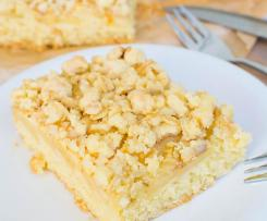 Apfel - Streusel - Kuchen vom Blech