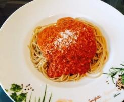 Sauce Bolognese mit Salsiccia