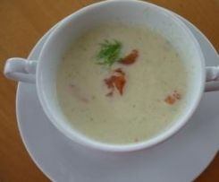 Fenchel-Petersilienwurzel Suppe