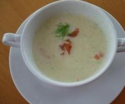 Fenchel-Petersilienwurzel Suppe
