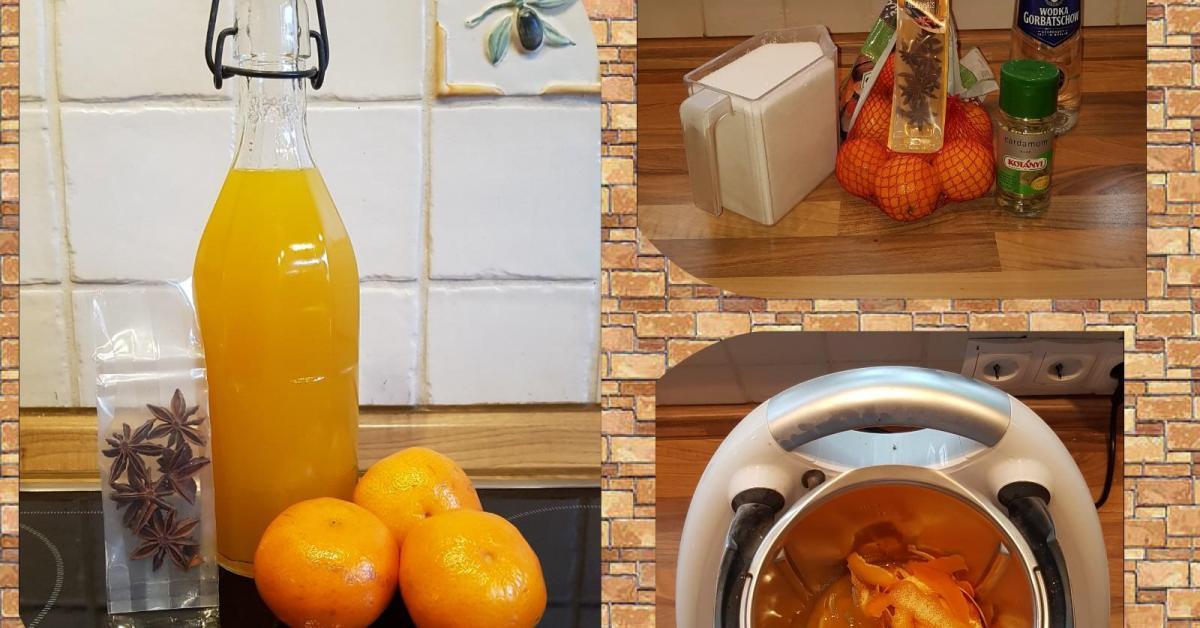 mandarinen lik r von catwomen23 ein thermomix rezept aus der kategorie getr nke auf www. Black Bedroom Furniture Sets. Home Design Ideas