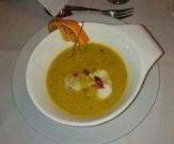 Rote-Linsen-Orangensuppe, Vegan