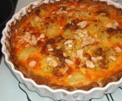 Fleisch-Kartoffel-Quiche