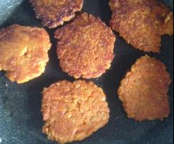 Kartoffel - Möhren - Linsenbratlinge