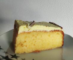 Dessertcreme-Kuchen