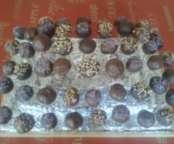 Schokoladige Cake-Pops