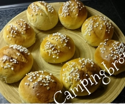Campingbrötchen, wie vom Bäcker