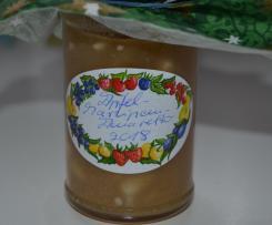 Apfel-Marzipan-Marmelade mit Amaretto