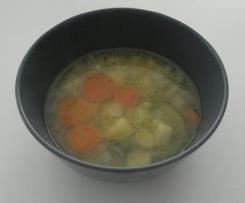 Bunte Gemüsesuppe schnell und einfach
