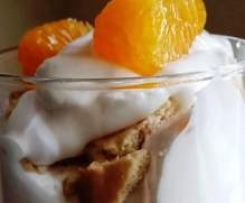 Käsesahne-Dessert