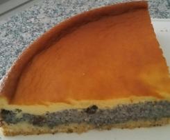 Mohnkuchen mit Schmand, nach Schwiegermutters Art