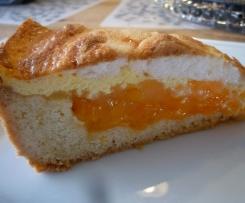 Pfirsich-Pudding-Kuchen
