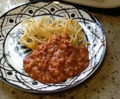 Sauce Bolognese ( ohne stückige Tomaten)