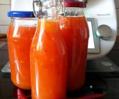Süß-scharfe-Chili-sauce wie beim Thai