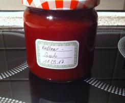 Erdbeer Marmelade mit Ramazzotti Rosato
